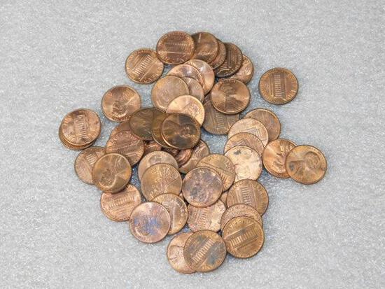1983 AU Pennies Approx 50