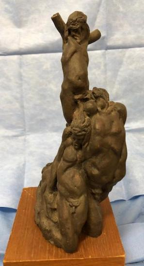 Vintage Bronze Sculpture Signed w. Provenance