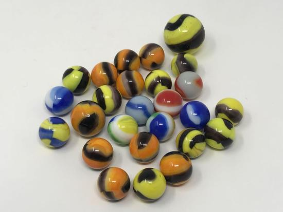 Vintage Glass Marbles. Marble King