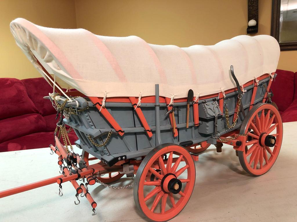 Detailed Model Conestoga Wagon