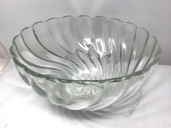 Fostoria Glass Punch Bowl
