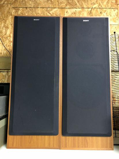 Sony Floor Model Speakers