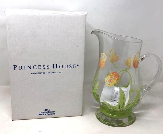 Princess House Cottage Tulip Pitcher