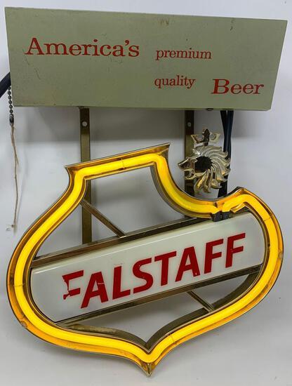 Falstaff Beer Neon Light