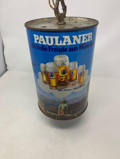 Paulaner Beer Can Style Chandelier Light