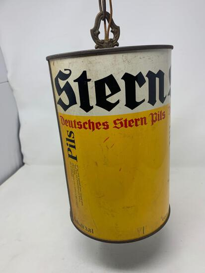Stern Beer Can Style Chandelier Light