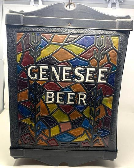 Genesee Beer Chandelier Light