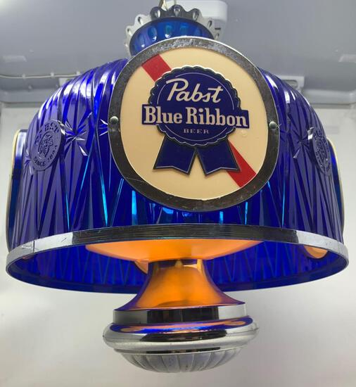 Pabst Blue Ribbon Chandelier Style Light