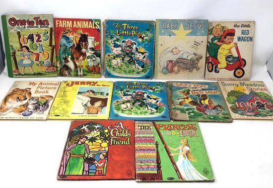Vintage Hard Bound Children's Books