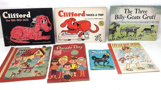 Vintage Children's Books