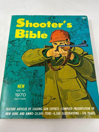 """Vintage Books, """"Shooter's Bible"""", and """"Gun World"""", 1970"""