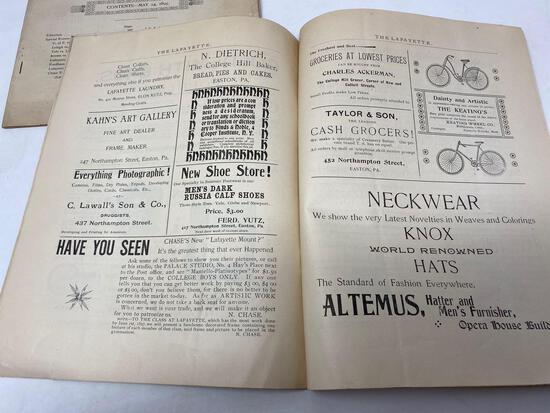 Antique 1901 Newspaper, The LaFayette