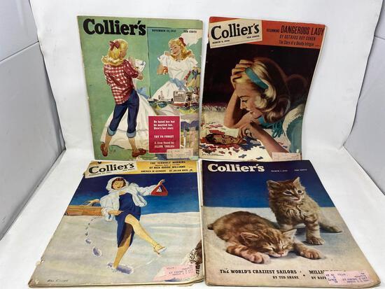 Retro Collier's Magazines, 1940's