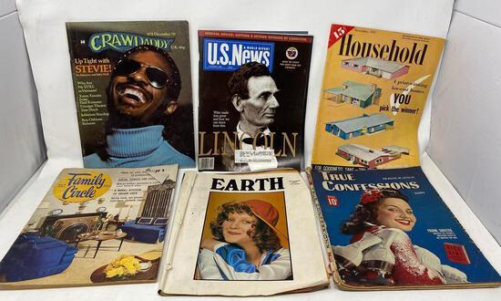 Vintage Magazines, 1950's, '60's, '70's