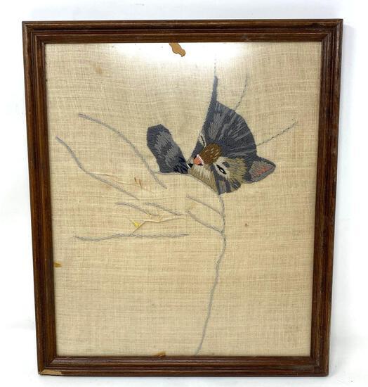 Vintage Framed Needlework