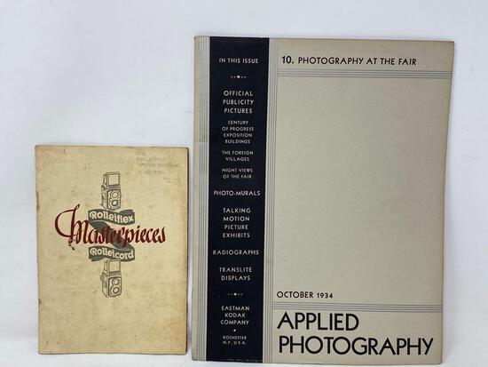 Antique Camera, Photography Books, 1930's
