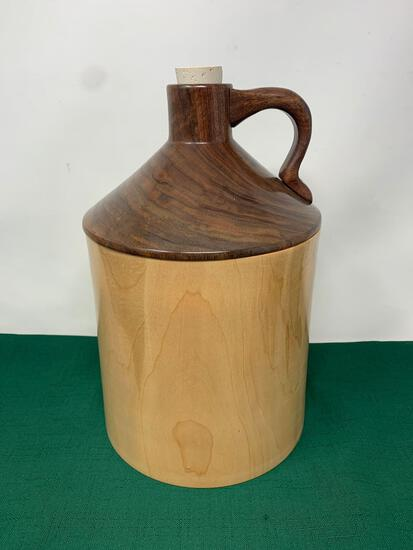 Handcrafted Wooden Jug