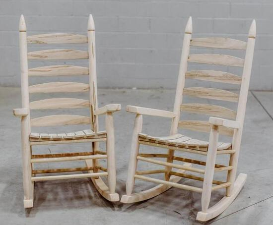 Handcrafted Porch Rockers
