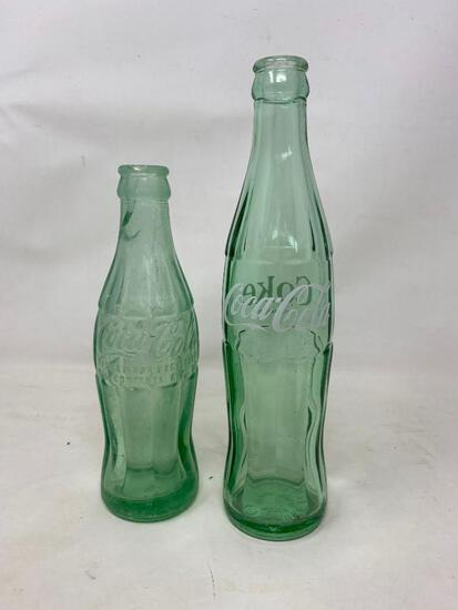 Green Glass Coca Cola Bottles