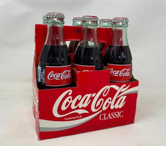 Coca Cola Classic Six Pack Bottles