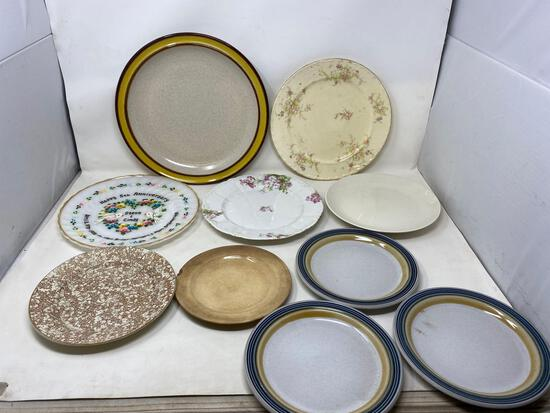 Antique and Vintage Dinner Plates