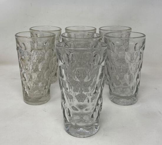 Clear Glass Water Glasses
