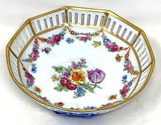 Antique Ring, Basket Dish