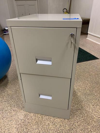 Filing cabinet, Two drawer