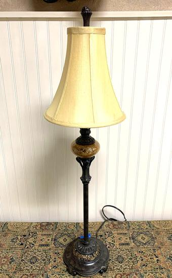 Home interior decoration, Tall table lamp