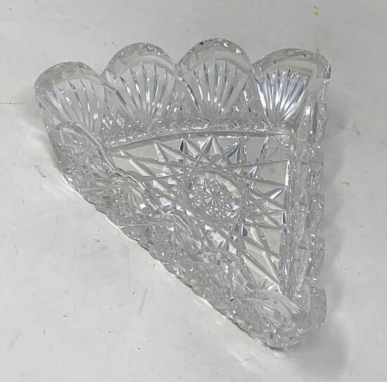 Crystal candy dish