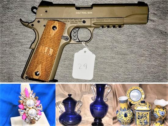 Guns and Estate Auction