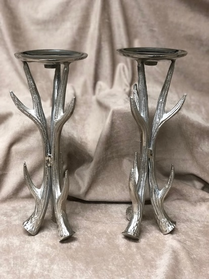 Antler Candle Holders