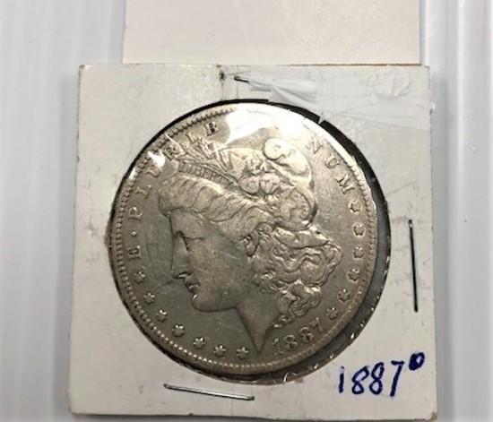 1887-O SILVER DOLLAR