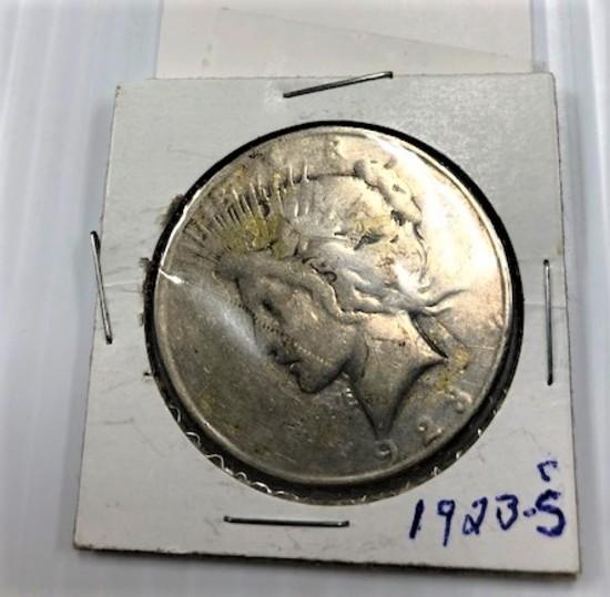 1923-S SILVER DOLLAR