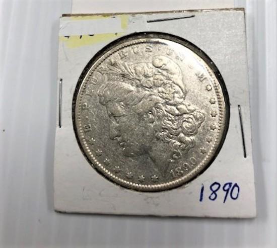 1890 SILVER DOLLAR