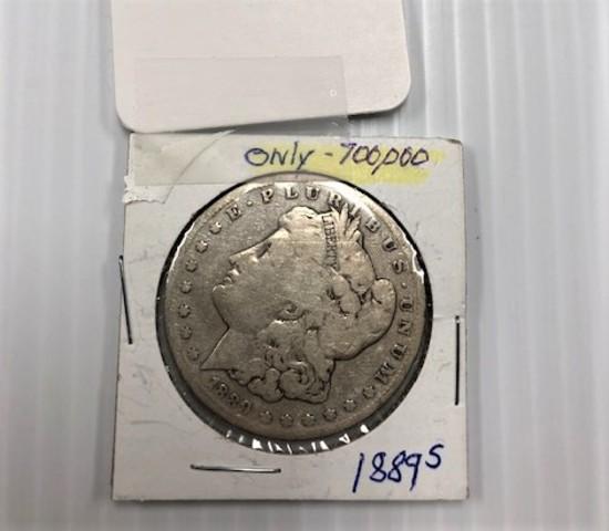 1889-S SILVER DOLLAR