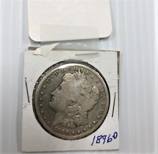 1896-O SILVER DOLLAR
