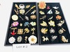 43 Vintage Costume Jewelry Broaches