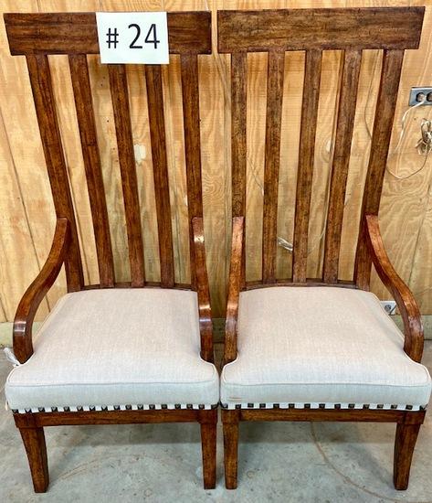Pair of Bausman & Co Chairs