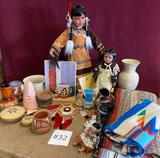 LOT OF NATIVE AMERICAN ITEMS