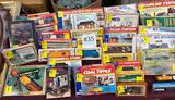 LOT OF TOY TRAINS, TRACKS AND MOTORS