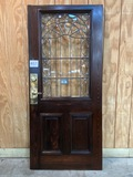 LEAD GLASS DOOR WITH BOLT