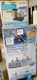 INTEX 15' PREMIUM POOL SET