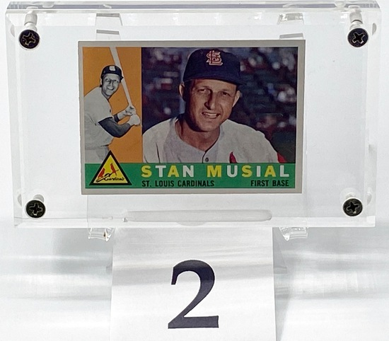 1960 STAN MUSIAL CARD