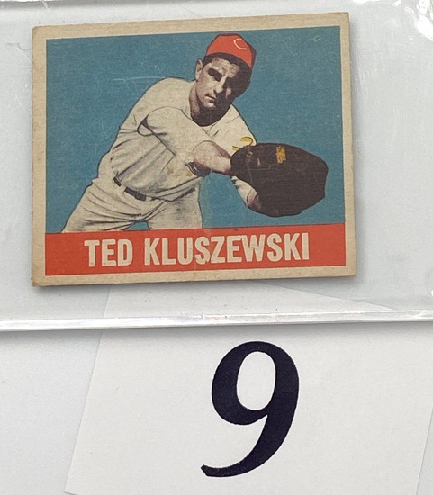 1948 TED KLUSZEWSKI BASEBALL CARD