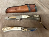 (2) CHURCHMAN KNIVES