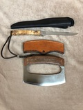 CUSTOM CHURCHMAN KNIFE & CHOPPER