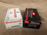 LOT OF .38 SPECIAL AMMO