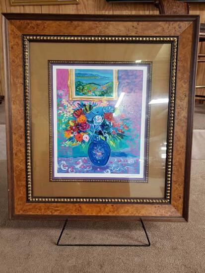 Signed Jean-Claude Picot EA 3/50 Framed Artwork