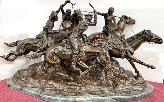 """""""OLD DRAGOONS"""" BY FREDERIC REMINGTON"""